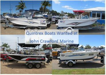 QUINTREX BOATS WANTED