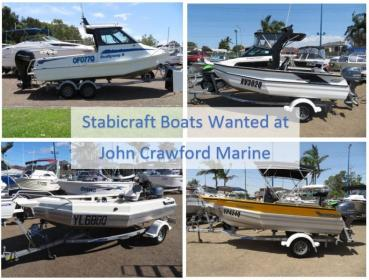 STABICRAFT BOATS WANTED