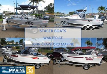 STACER BOATS WANTED